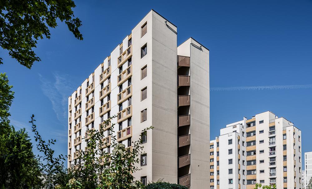 Réhabilitation complète 104 logements Lyon