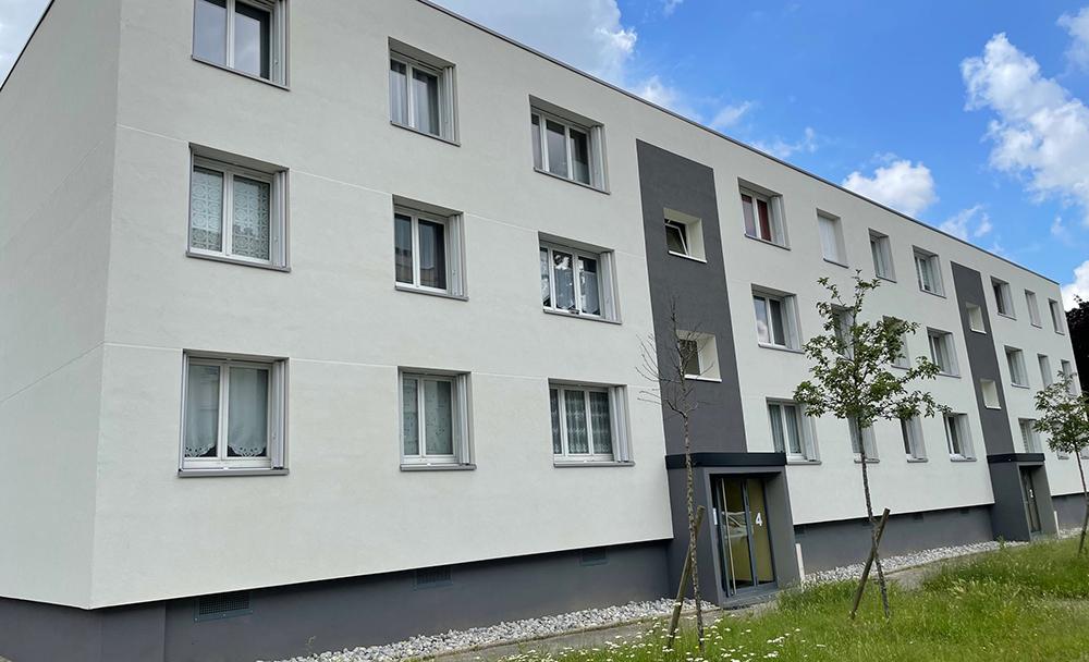 Rénovation immeuble résidence